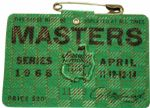 1968 Masters Badge