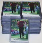 Lot of 100 2001 Upper Deck Tiger Woods Golf Cards - Not Graded and Not Cased - Group 22