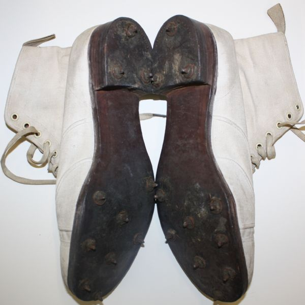 vintage white buck shoes