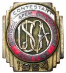 1934 US Open Contestants Pin - Merion