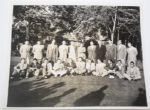 1941 Original 8x10 Team Photo of Bobby Jones All-Stars vs Ryder Cup Team - Rare Official Team Photo