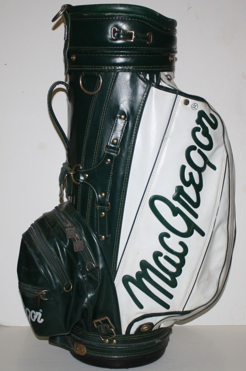 Lot Detail - Charley Penna MacGregor Green and White Staff Bag
