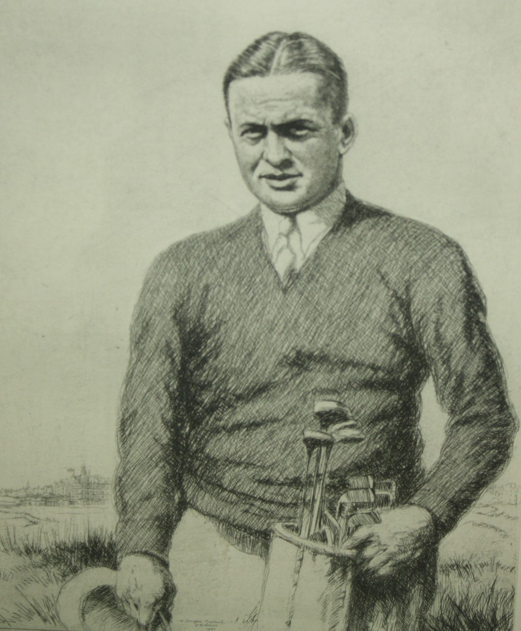 Lot Detail - Limited Edition #63/200 Bobby Jones Print From Macleod ...