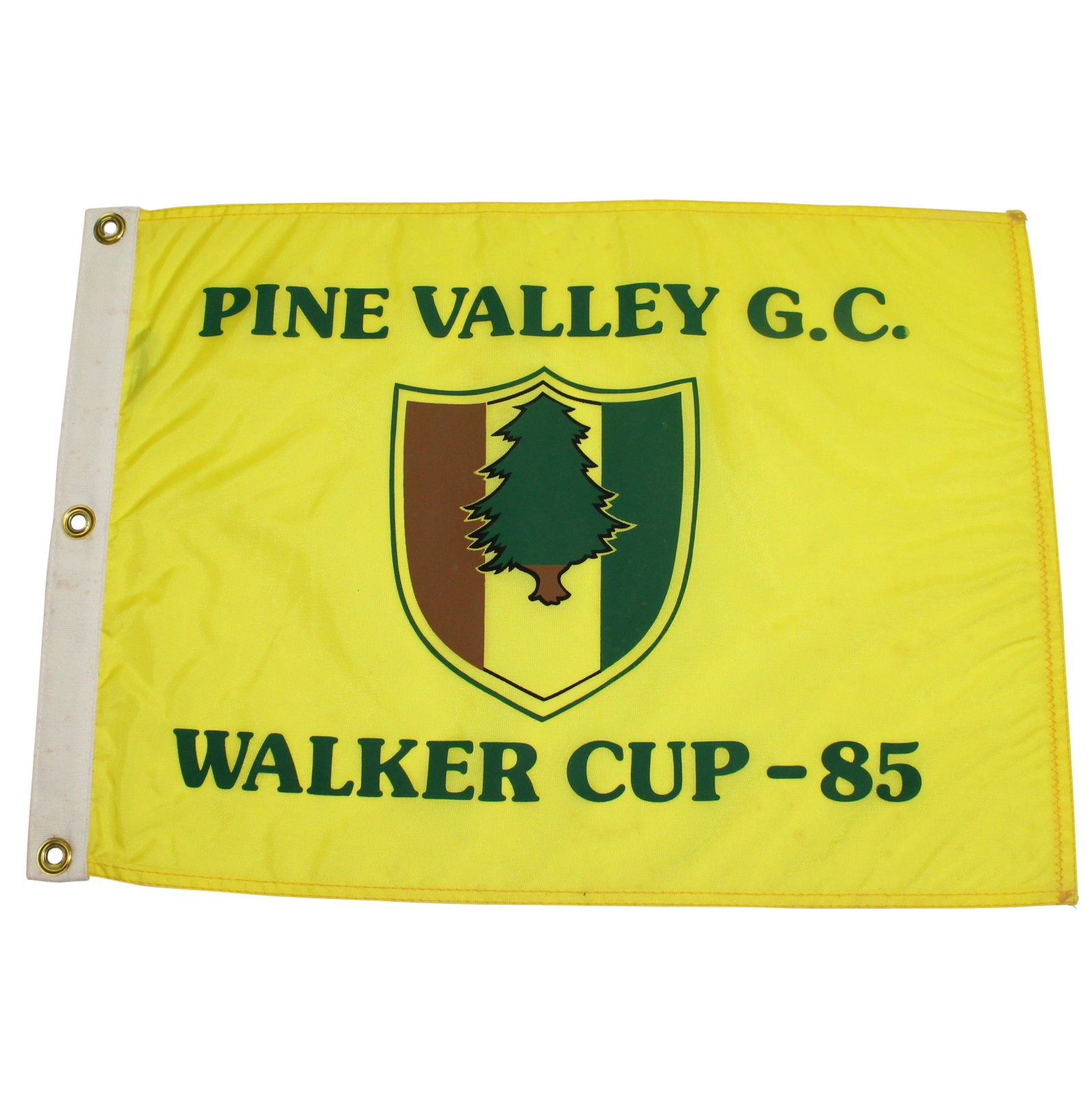 Lot Detail - 1985 Walker Cup at Pine Valley Golf Club ...