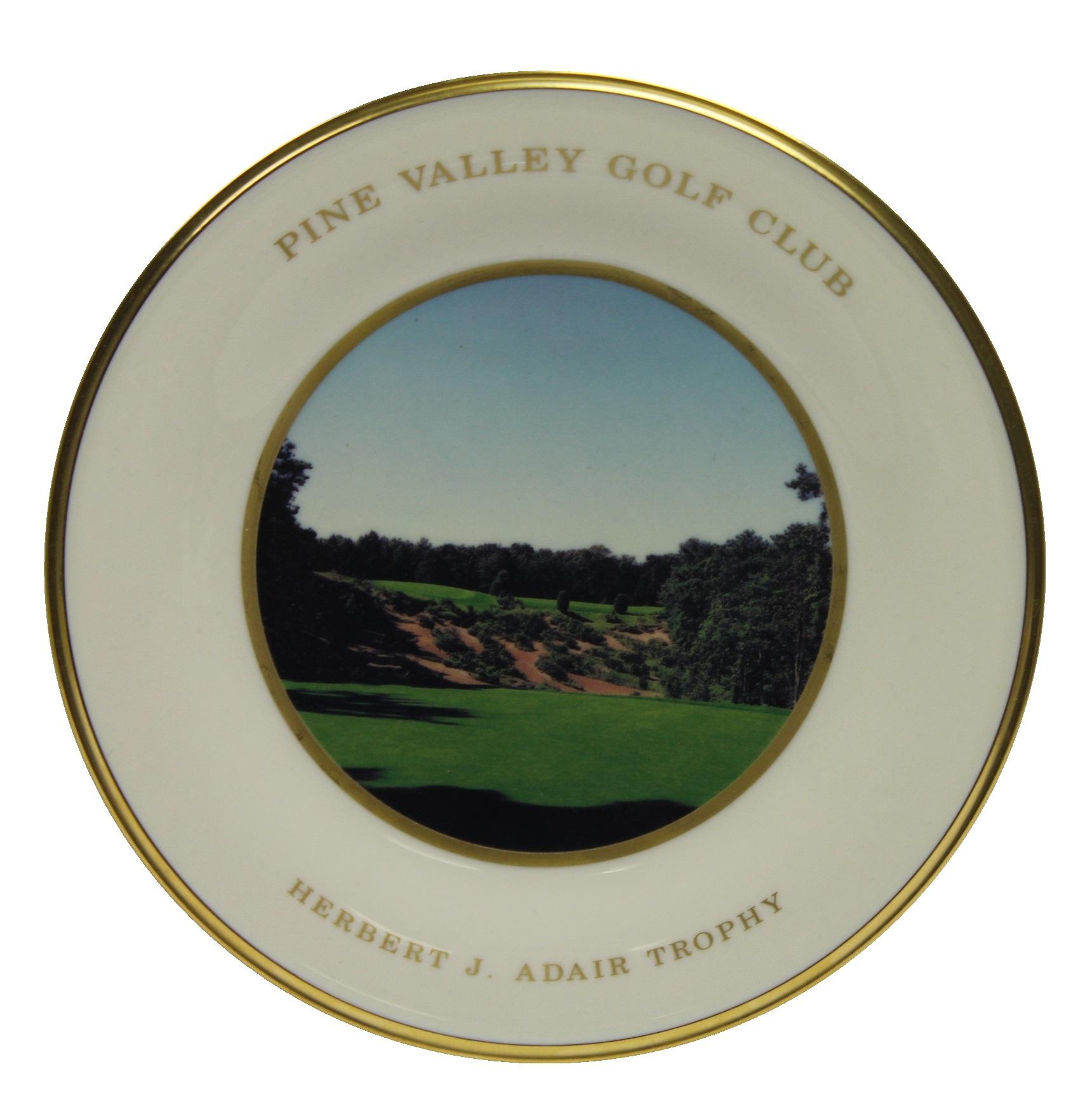 Lot Detail - Pine Valley Golf Club Lenox Herbert J. Adair ...