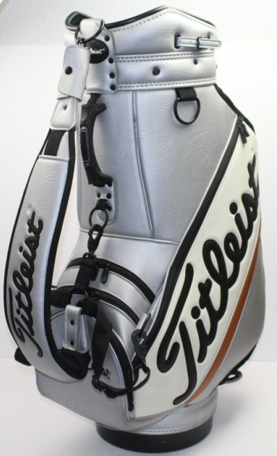 Lot Detail Limited Edition Signature Titliest Golf Bag Davis