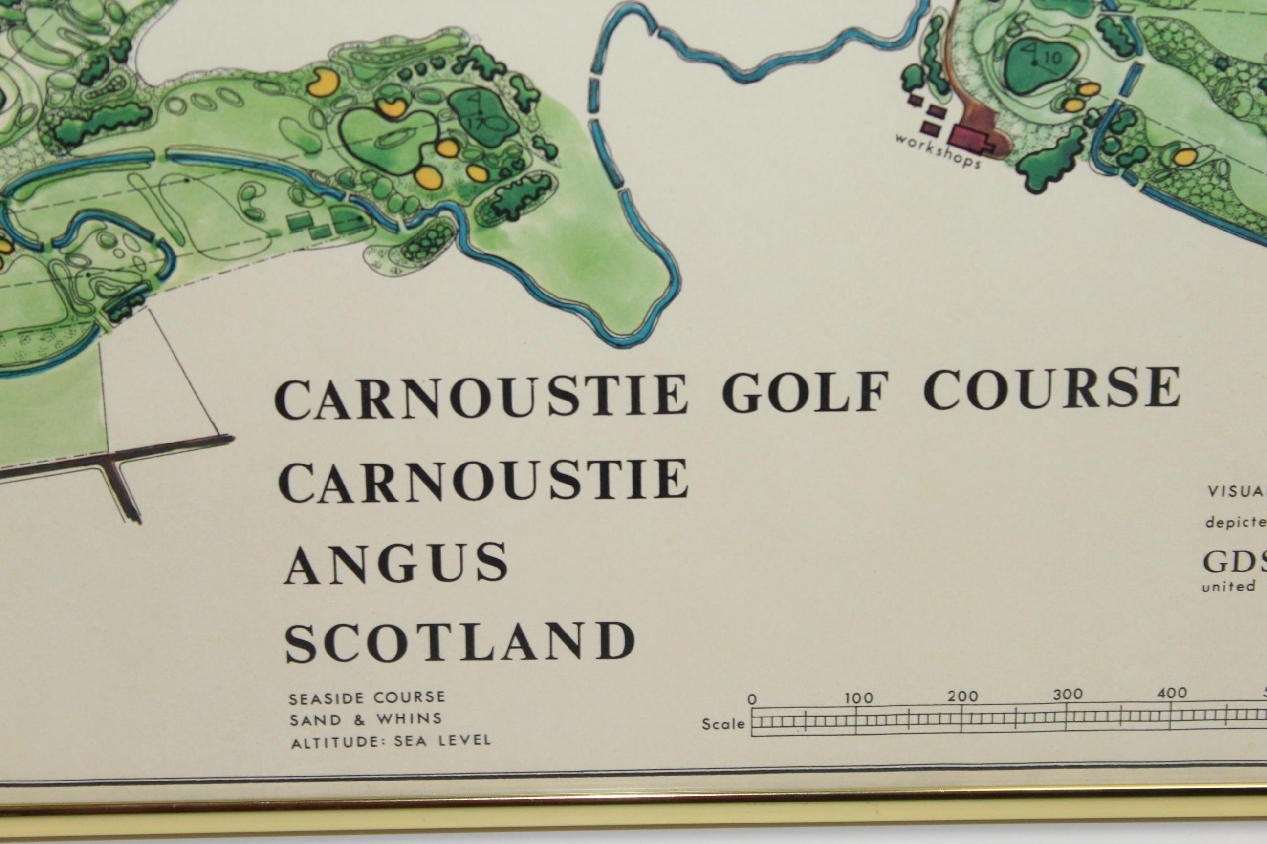 Lot Detail 1968 Carnoustie Golf Course J P Izatt Golf Architect