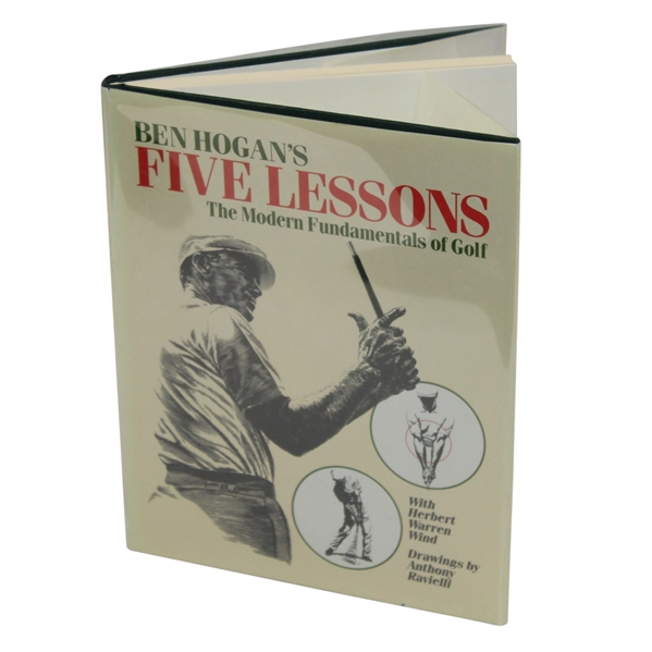 Lot Detail - Ben Hogan Signed Golf Book 'Ben Hogan's Five Lessons ...