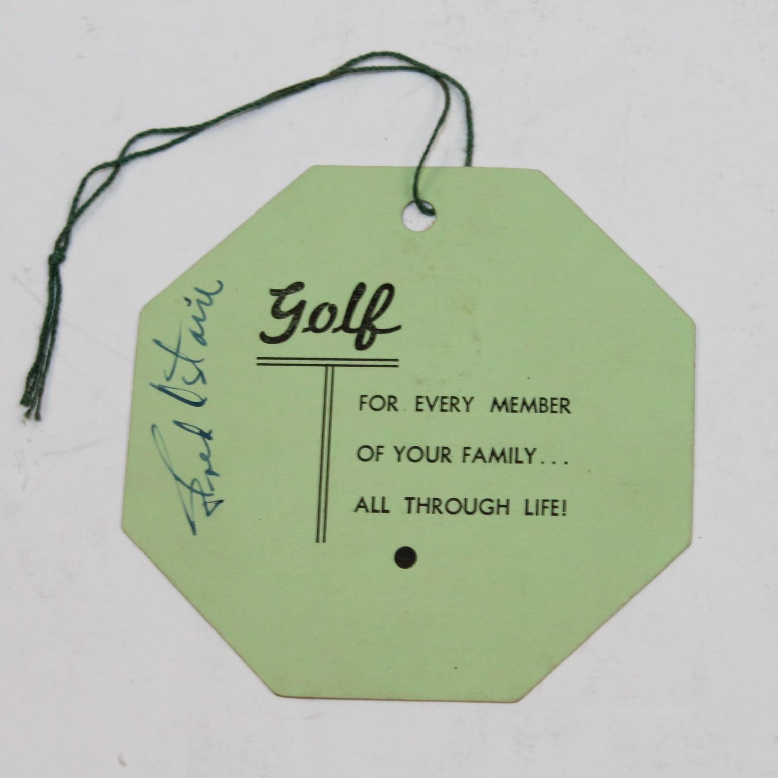 Lot Detail - 1946 Masters Tournament Friday Ticket #1028 Signed by