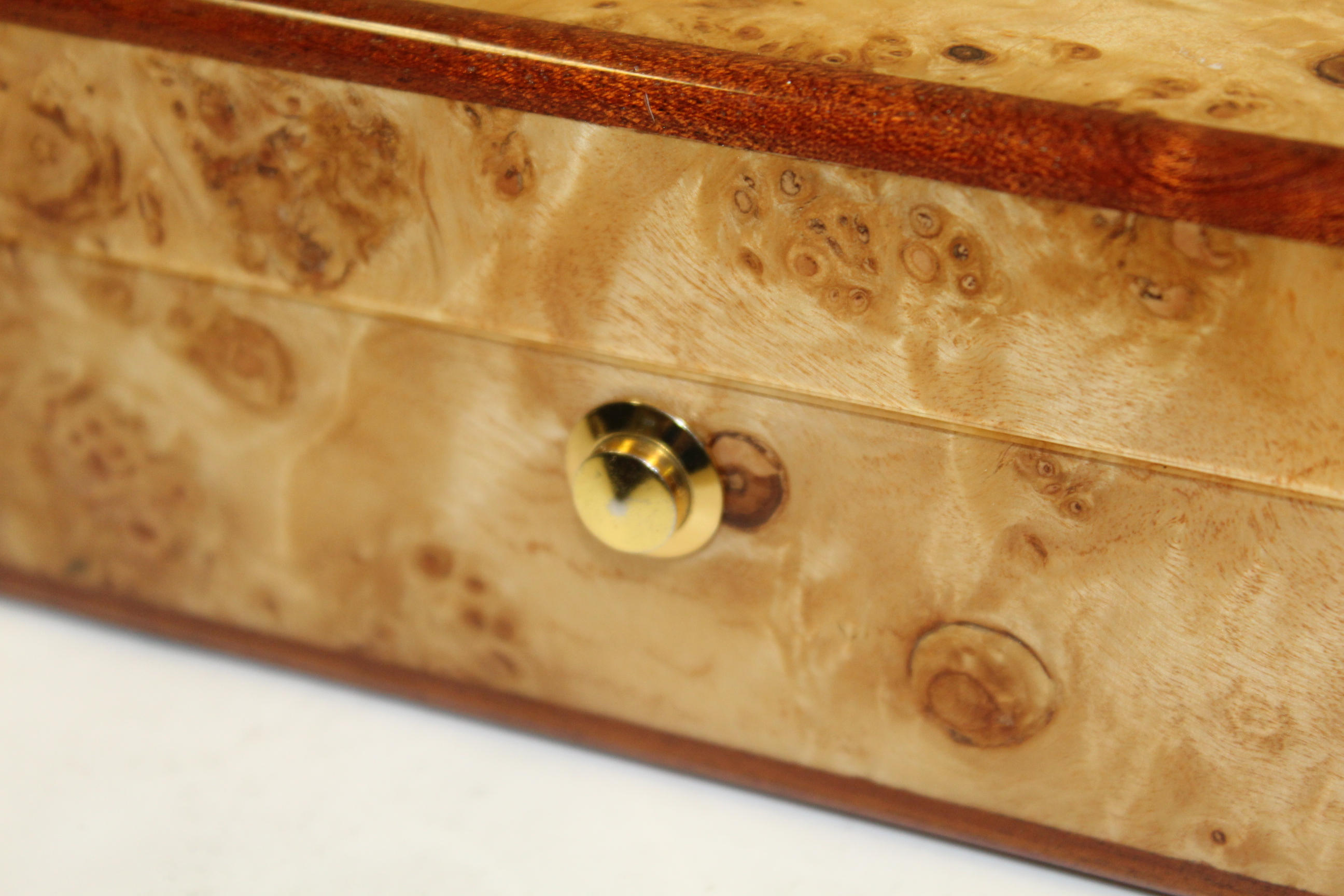 Lot Detail Augusta National Member Undated Burl Wood Jewelry Box