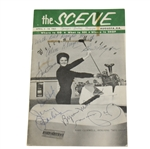 Hogan, Demaret, Snead, Nelson, and Others Signed 1965 The Scene Augusta Magazine JSA ALOA