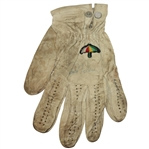 Arnold Palmer Signed Game Used Golf Glove with Copy of Letter JSA #Q64240