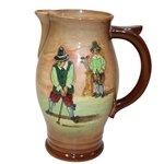 Royal Doulton Golf Themed Pitcher - Roth Collection