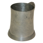 1898 Alpine Golf Club Reed & Barton Pewter Tankard - Roth Collection