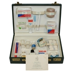 1975 Masters Tournament First Aid Kit with Compliments Card