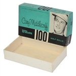 Wilson Cary Middlecoff 100 Liquid Center Dozen Golf Balls Box Only - Roth Collection