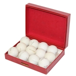 Acushnet Dynaflyte/Faultess Henry Duisen Stamped Dozen Golf Balls in Box - Roth Collection