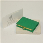 1973 Masters Tournament Member Gift - French Purse - Change Wallet