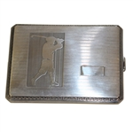 Napier Sterling Silver Golf Themed Cigarette Case - Roth Collection