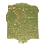 1931 PGA Championship Decal - Wannamoisett Country Club - Roth Collection
