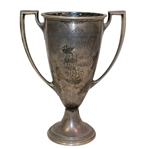 1915 Indian Hill Club Presidents Cup Championship Sterling Silver Trophy Won by Edward Cummins