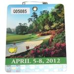 2012 Masters Tournament Series Badge #Q05085 - Bubba Watson Win