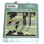 2013 Masters Tournament Series Badge #Q04946 - Adam Scott Win