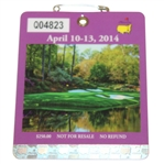 2014 Masters Tournament Series Badge #Q04823 - Bubba Watson Win