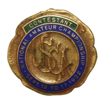 1932 USGA Amateur Contestant Badge - Ross Somerville Winner