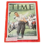 Arnold Palmer Signed May 2, 1960 Time Magazine JSA #Q49423