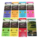 Complete Set of 2005 PGA Championship at Baltusrol GC Tickets with Course Guide