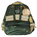 "Arnold Palmers Personal 1972 Masters Shoe Bag with Contestant Metal Tag - ""Rack A, Position 1"""