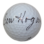 Ben Hogan Signed Hogan-100 Legend Golf Ball Full JSA #Z33794
