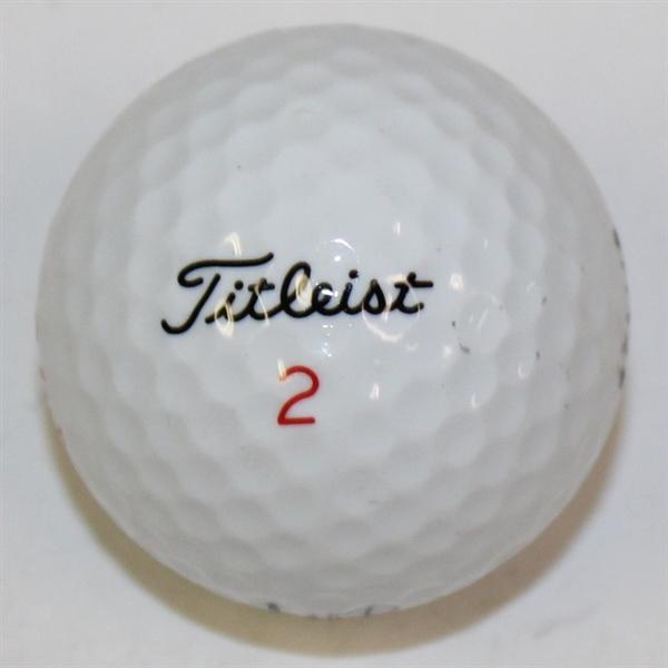Lot Detail - Alan Shepard Signed Titleist 2 Golf Ball JSA ALOA
