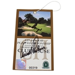 2003 Senior PGA Championship Thursday Ticket #319 Signed by Arnold Palmer & Gary Player JSA ALOA