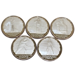 Arnold Palmer 50th Anniversary Encore Bank Five Coin Set