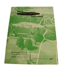 1958 Womens Western Golf Tournament Program