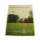 1955 Miller High Life Open Championship Program - Cary Middlecoff Winner
