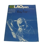 1968 Los Angeles Open Program Signed by Billy Casper JSA ALOA