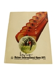 1971 Kaiser International Open Program Signed by Billy Casper JSA ALOA