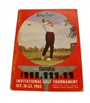 1965 Sahara Invitational Program Signed by Billy Casper JSA ALOA