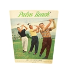1957 Plam Beach Championship Program Signed by Cary Middlecoff JSA ALOA
