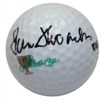 Peter Thomson Signed The Presidents Cup Logo Golf Ball JSA ALOA
