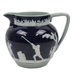 Copeland Spode Stoneware Pitcher- Golf Themed - R. Wayne Perkins Collection