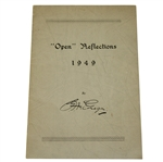 "1949 ""Open"" Reflections Book by George F. MacGregor - Bradshaw Bottle Shot Playoff"