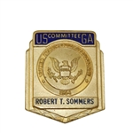 USGA Official Committee Badge Belonging to Robert T Sommers - Robert Sommers Collection