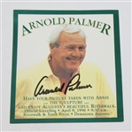 Arnold Palmer Signed Official Statue Unveiling Dedication Card JSA ALOA