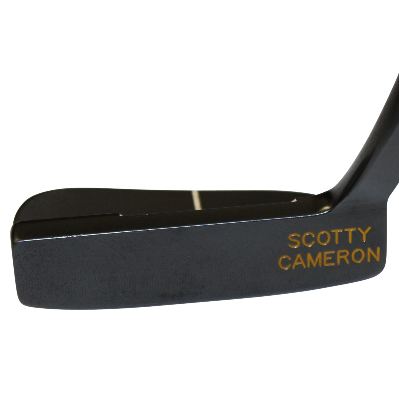 scotty cameron black leather head cover