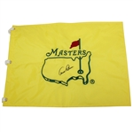 Arnold Palmer Signed Masters Undated Embroidered Flag JSA ALOA