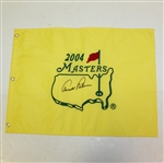 Arnold Palmer Signed 2004 Masters Embroidered Flag - Final Masters JSA ALOA